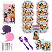 Spirit Riding Free Deluxe Tableware Kit with Favor
