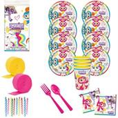 Fingerlings Deluxe Tableware Kit with Favor Cups (