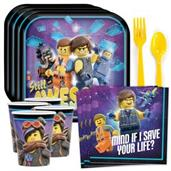 Lego Movie 2 Standard Tableware Kit (Serves 8)