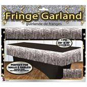Silver Tinsel Fringle Garland