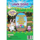 Easter Egg Hunt Lawn Signs (3)