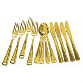 Gold Plated Cutlery Multipack (4 Each)