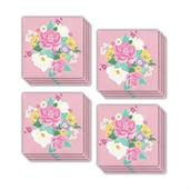 Floral Tea Party Beverage Napkin (48)