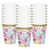Floral Tea Party 9oz. Cup (24)