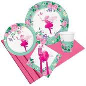 Floral Fairy Party Pack for 8