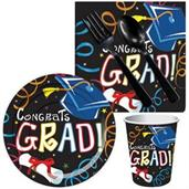 Congrats Grad Multi-Color Snack pack for 16