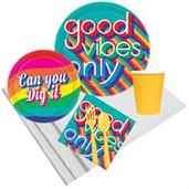 Good Vibes Party Supplies & Decorations