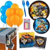 BirthdayExpress Monster Jam Party Supplies Kit for