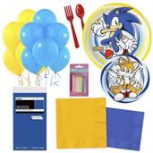Sonic Party Supplies Kit for 16 -