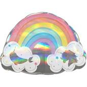 Magical Rainbow Shaped Balloon