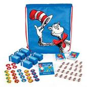 Dr. Seuss Favor Cinch Bag Favor Kit For 24