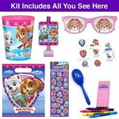 Pink Paw Patrol Deluxe Filled Favor Goodie Bag (1)