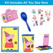 Peppa Pig Filled Favor Goodie Bag (1)