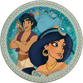 "Aladdin 9"" Round Lunch Plate (8)"