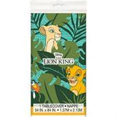 "The Lion King Plastic Tablecover 54""x 84"" (1)"
