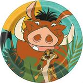 The Lion King 7 Round Dessert Plates