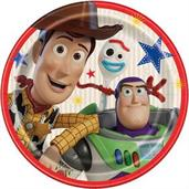 "Disney's Toy Story 4 Round 9"" Lunch Plate (8)"