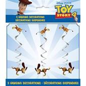 "Disney's Toy Story 4 26"" Hanging Swirl Decorations"