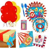 Circus Party Supplies Kit for 16 A