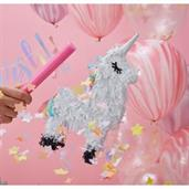 "Ginger Ray Make a Wish Mini Unicorn 5"" Pinata (1)"