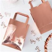 Ginger Ray Rose Gold Treat Bag (5)