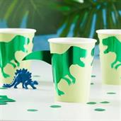 Ginger Ray Roarsome Foiled Dinosaur 9oz. Cup (8)