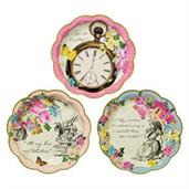 Talking Tables Truly Alice Plate Assorted Shaped D