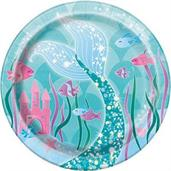 Unique Party Favors Mermaid 7 Plates
