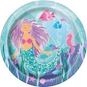 "9"" Mermaid Party Plates"