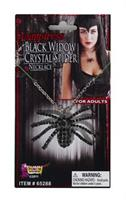 Deluxe Black Widow Necklace