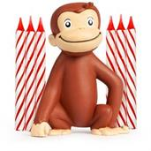 Curious George Cake Decoration with 6 Candles