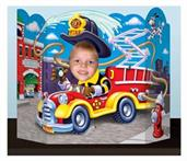 "Fire Truck Photo Prop 37"" x 25"""