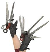 Edward Scissorhands Deluxe Gloves Adult