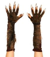 Wolf Gloves Hairy Fur Hands to Arms with nails