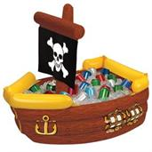 "Inflatable Pirate Ship Cooler 41""x23""x 15"""