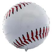Baseball Foil Balloon 18""