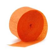 Bright Orange (Orange) Crepe Paper