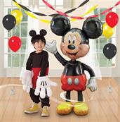 "Disney Mickey 52"" Airwalker Jumbo Balloon"