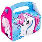 Enchanted Unicorn Empty Favor Boxes