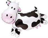 Cow Shaped Jumbo Foil Balloon 30""
