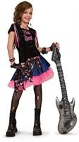 Pink Rock Girl Child Costume