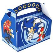 Sonic the Hedgehog Empty Favor Boxes
