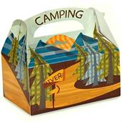 Let's Go Camping Empty Favor Boxes