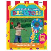 Inflatable Clown Ball Toss Game