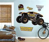 Monster Jam Maximum Destruction Giant Wall Decal