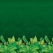Jungle Foliage Backdrop 4' high x 30'