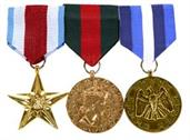 Army Three Medals