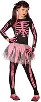 Punk Skeleton Child Costume