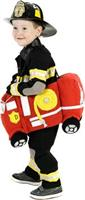 Plush Ride-In Fire Truck Toddler Costume