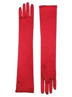 Long Satin Adult Gloves